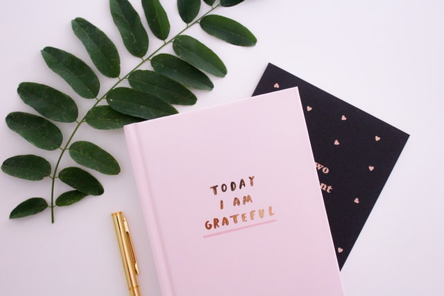 kiitollisuuspäiväkirja